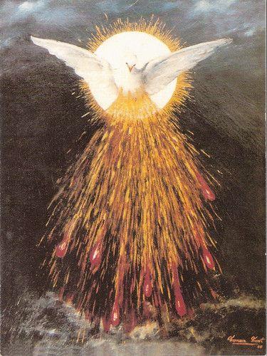 Espíritu Santo, el fuego de tu amor quema en mayo a nosotros. ---------------------------Holy, Spirit, may the fire of your love burn in us!