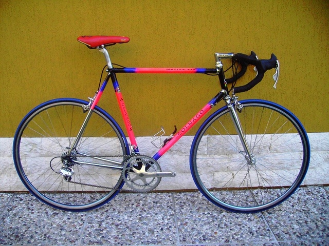 My steel geared, Colnago Master Più. Nearly ready