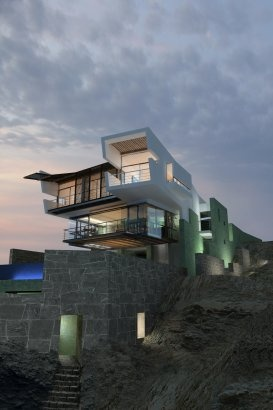 Project - Lefevre Beach House - Architizer