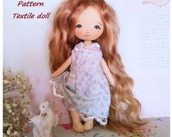 Tela muñeca arte textil recogida muñeca tela muñeca por ElenaGarus