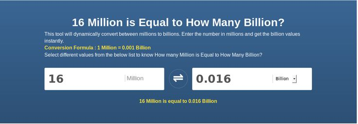 Check Out Here To Find The Million To Billion Conversion Scale Using Online Calculator Millionbillion Converter Pinterest The Ojays