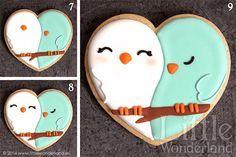 GALLETAS DECORADAS 8: Decoración de una galleta paso a paso | COOKIE DECORATING 8: Decorating a cookie