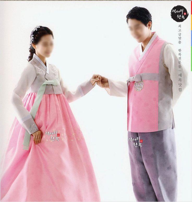 ХАНБОК Корейский национальный костюм на асянди