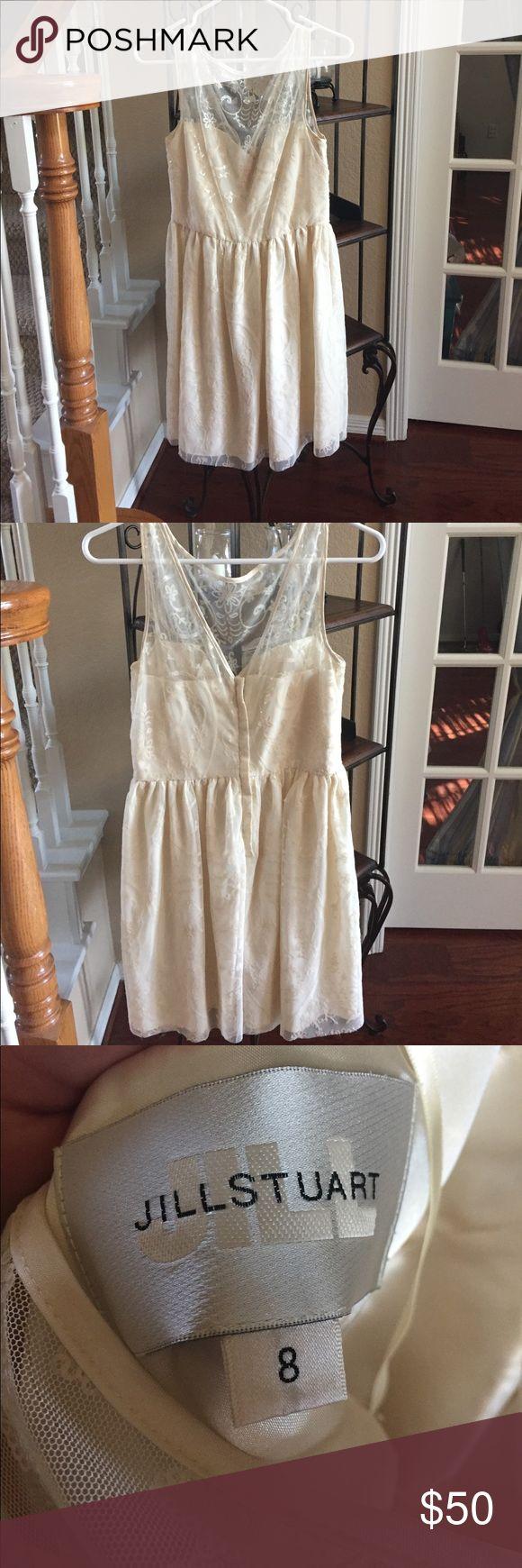 Nordstrom cream color dress Size 8 dress Nordstrom Dresses