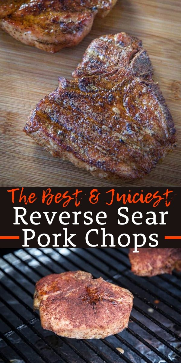 Reverse Seared Pork Chops With Wine Pairing Vindulge Recipe Seared Pork Chops Smoked Pork Chops Pellet Grill Pork Chops