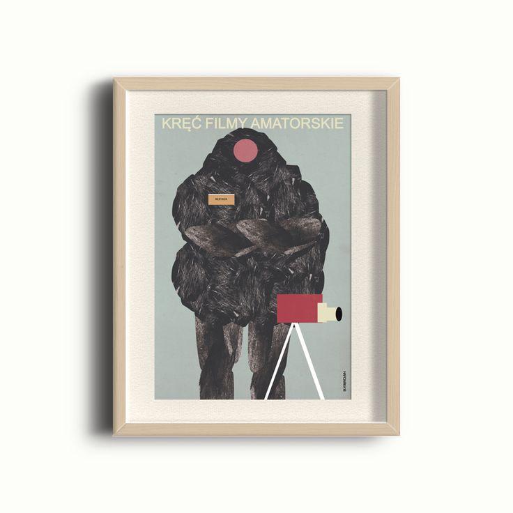 Plakat - Kręć filmy amatorskie 30x40