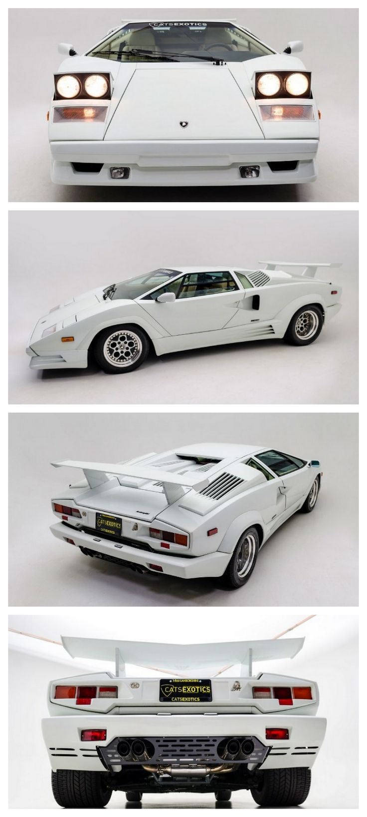 Rare 25th Anniversary Edition Countach Fuel Injected #AutoAwesome