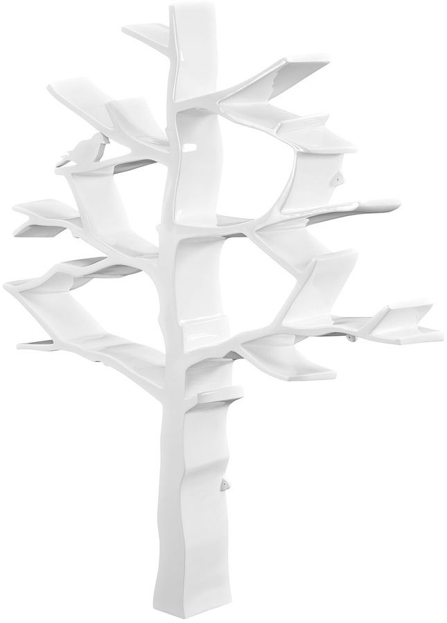 Modway Knowledge Tree Bookcase Cool Bookshelf
