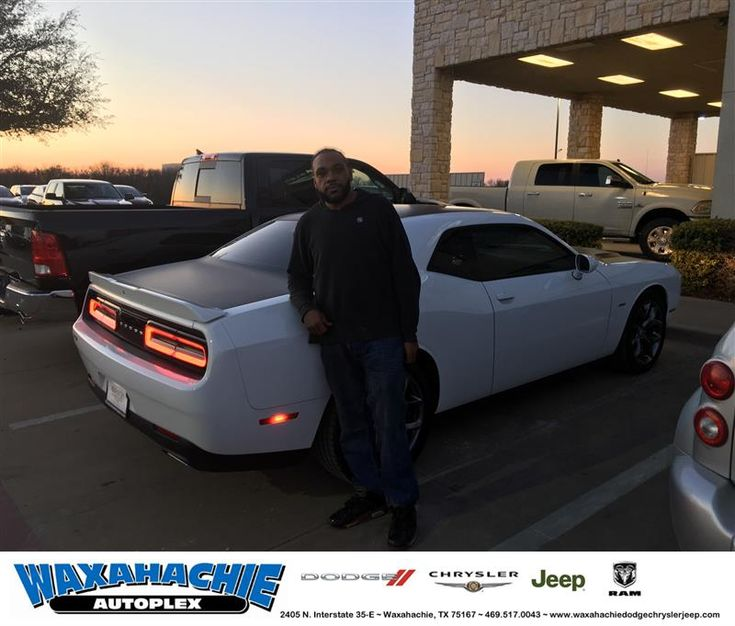 Happy Anniversary to Bryan on your #Dodge #Challenger from Nicholas Allison at Waxahachie Dodge Chrysler Jeep!  https://deliverymaxx.com/DealerReviews.aspx?DealerCode=F068  #Anniversary #WaxahachieDodgeChryslerJeep