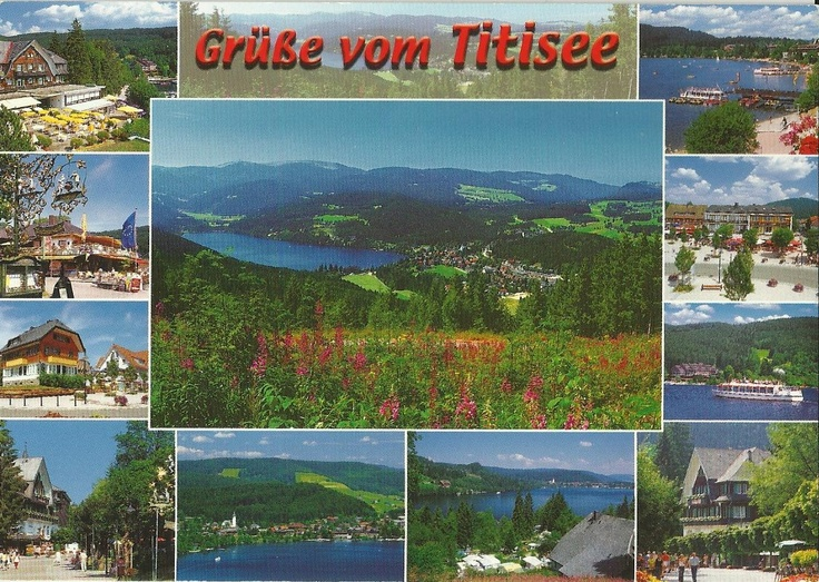 Titisee , Baden-Württemberg