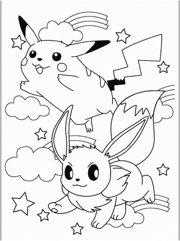 Coloriage Pikachu A Imprimer Gratuit