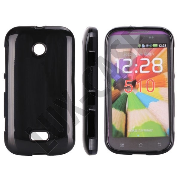 Sort Nokia Lumia 510 Deksel