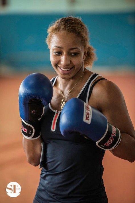 Estelle Mossely - Boxe - France - JO 2016 - Stevan Lebras