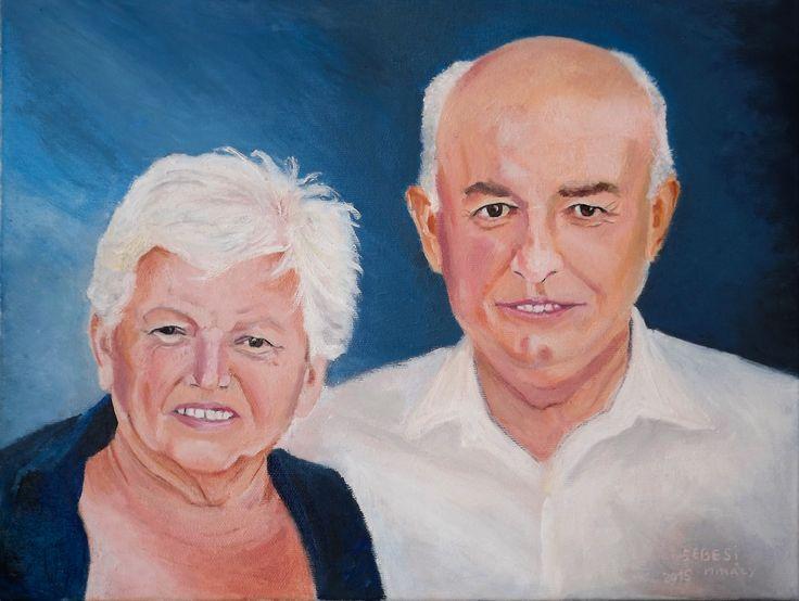 Portrete 2015  ulei pe panza/ oil on cavans 30x40 cm