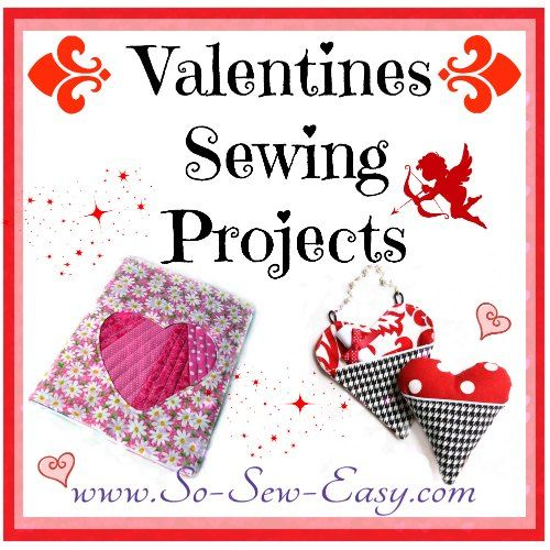 59 best Valentine's Day Sewing Projects images on ...