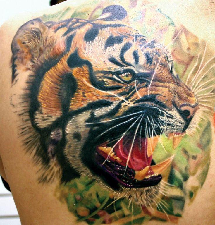 161 Best Tiger Tattoos Images On Pinterest