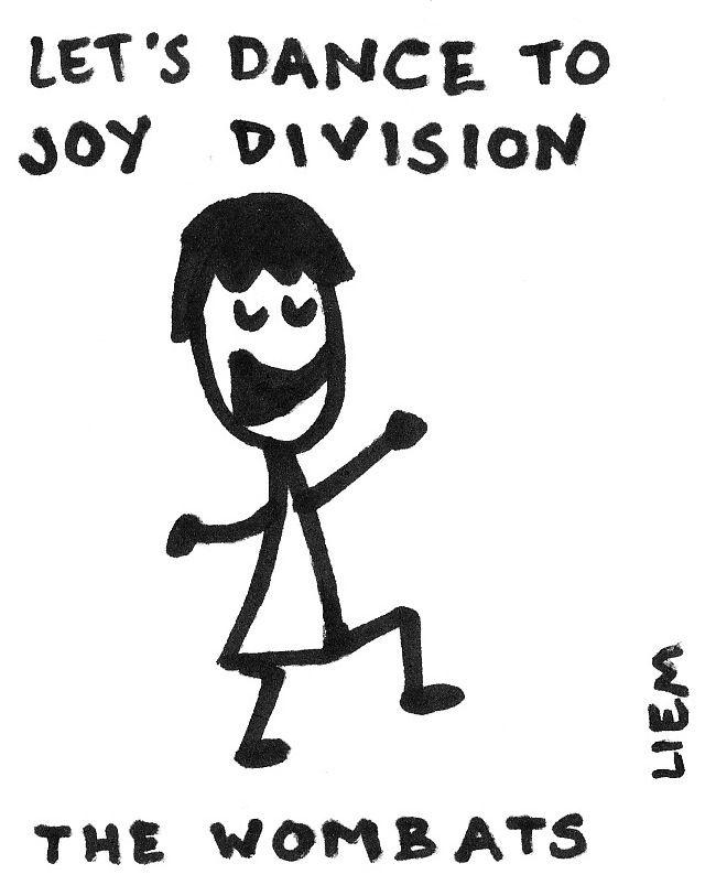 The Wombats - Let Dance To Joy Division Chords - AZ Chords