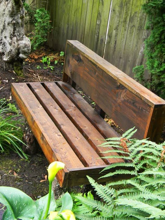 From Ss To Sensational Garden Bench Diy In The Woods Outdoor Pallet Projects Yard Furniture