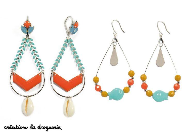 Ces magnifiques bo pourraient devenir les indispensables de l'été !! #ladroguerie #bijoux #bo