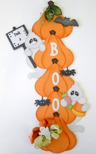 ELITE4U Vertical Border Peek-A-Boo Paper Piecing Pre-Made danderson651 | eBay