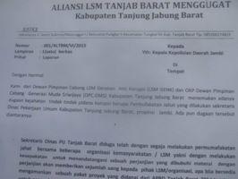 Media Online Borbor News: LSM GENK dan GMS Mengugat, cek--> www.BorborNews.com