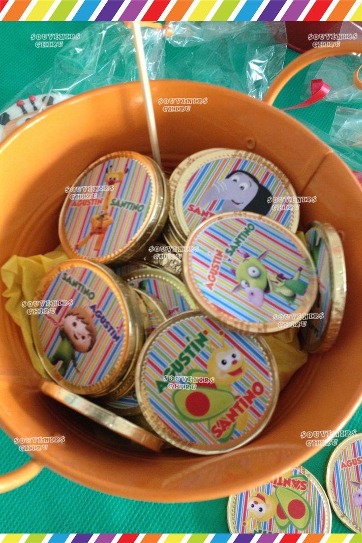 Candy Bar Baby Tv- souvenirs personalizados Baby Tv.