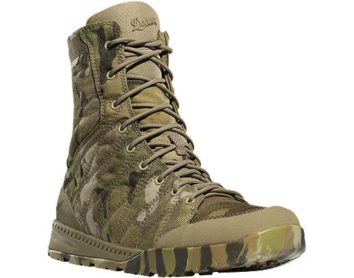 Danner Melee 8 Multi-Cam Military Boots.