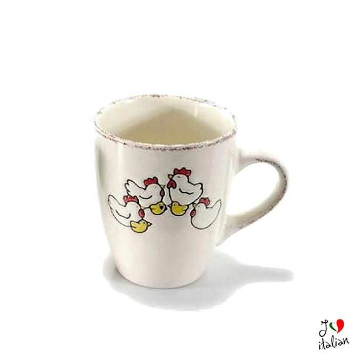 White ceramic cup with duck - Dining - €7.90
