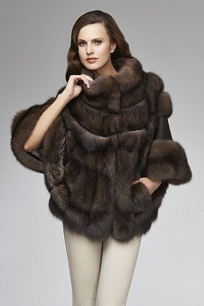 ♔ Luxury Fur   sable coat
