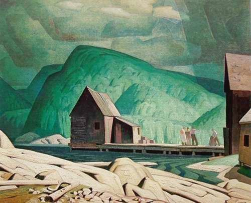 "The Group of Seven - A.J. Casson Sunshine ""After Rain"""