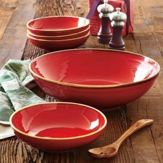 ShopStyle: Sur La TableRed Italian Pasta Bowls, Set of 5/  I have these and they are great!