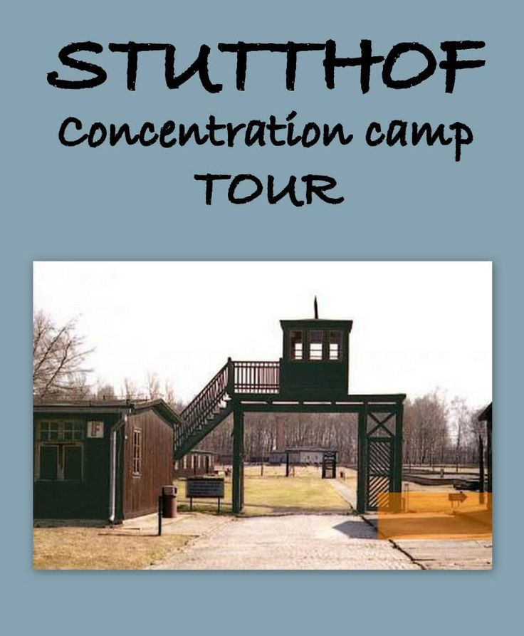 Nazi German Concentration Camp in Stutthof - a history lesson