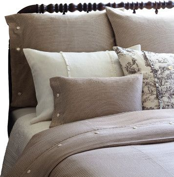 Farmhouse Stripe Twin Duvet Cover traditional duvet covers
