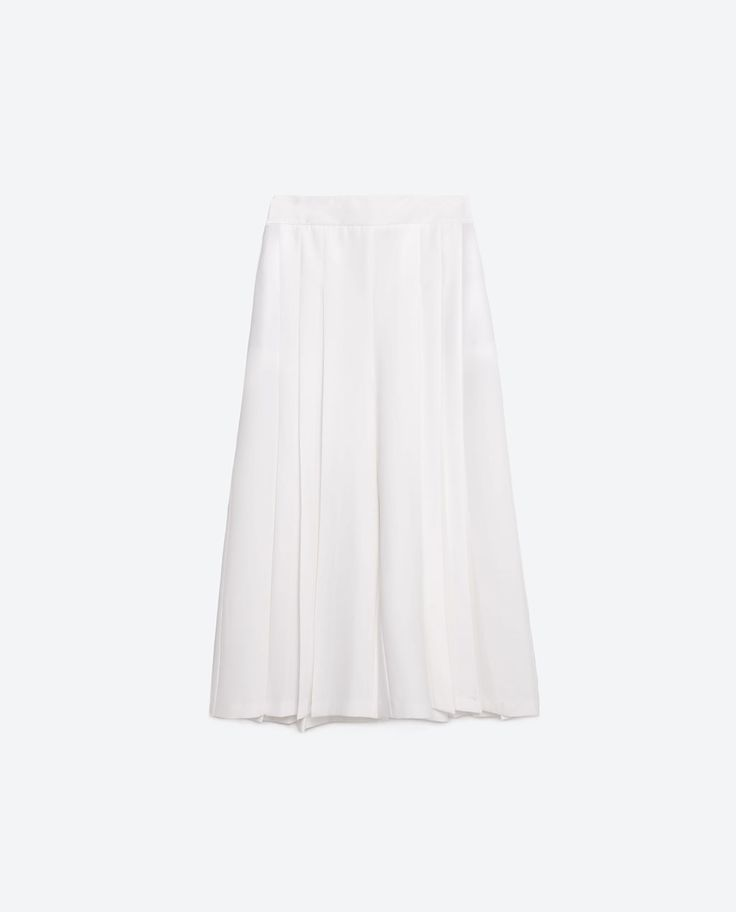 Image 8 of BOX PLEAT SKORTS from Zara