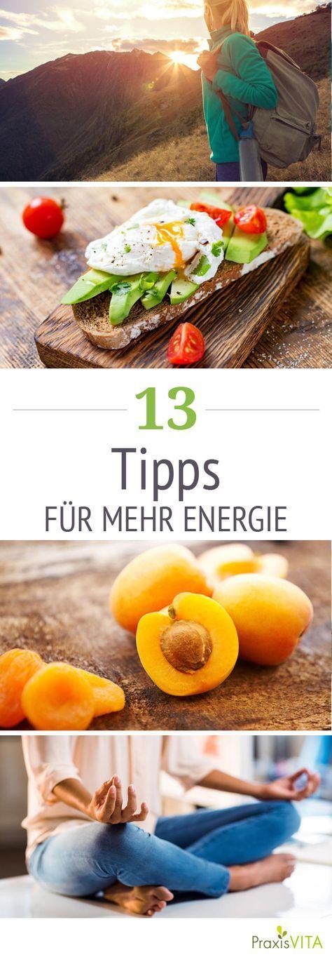 Sie möchten mehr Energie tanken? Wenn Sie sich häufig müde und ausgelaugt fühlen, helfen diese Maßnahmen, damit Sie wieder mit Kraft Ihren Alltag bewältigen
