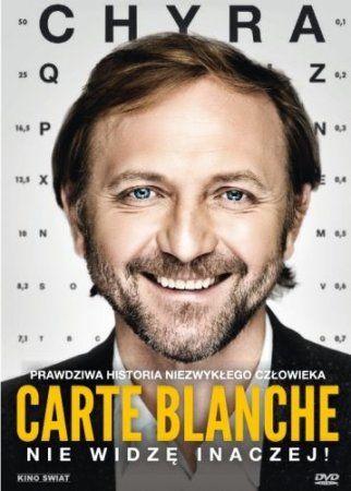 """""""Carte blanche"""", reż., scen. Jacek Lusiński. Obsada: Andrzej Chyra, Urszula Grabowska, Arkadiusz Jakubik. 102 min."""