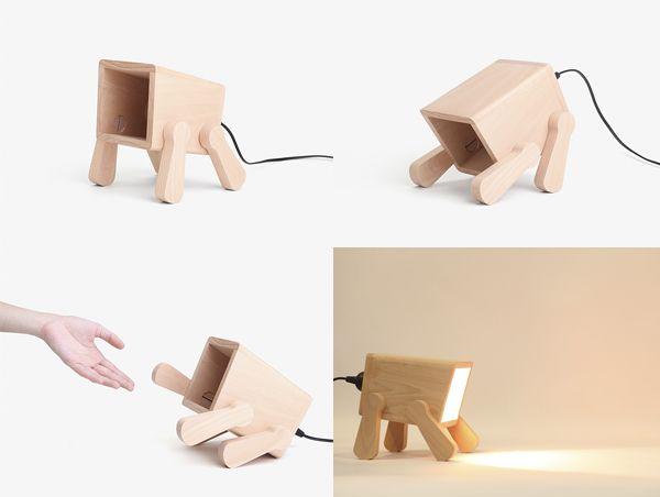 lampara perro pana object