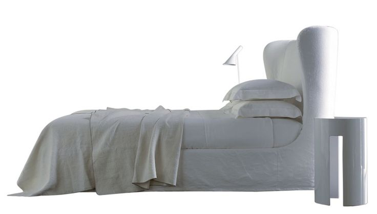 Lauren Ghost  Contemporary, Upholstery  Fabric, Bed by Meridiani