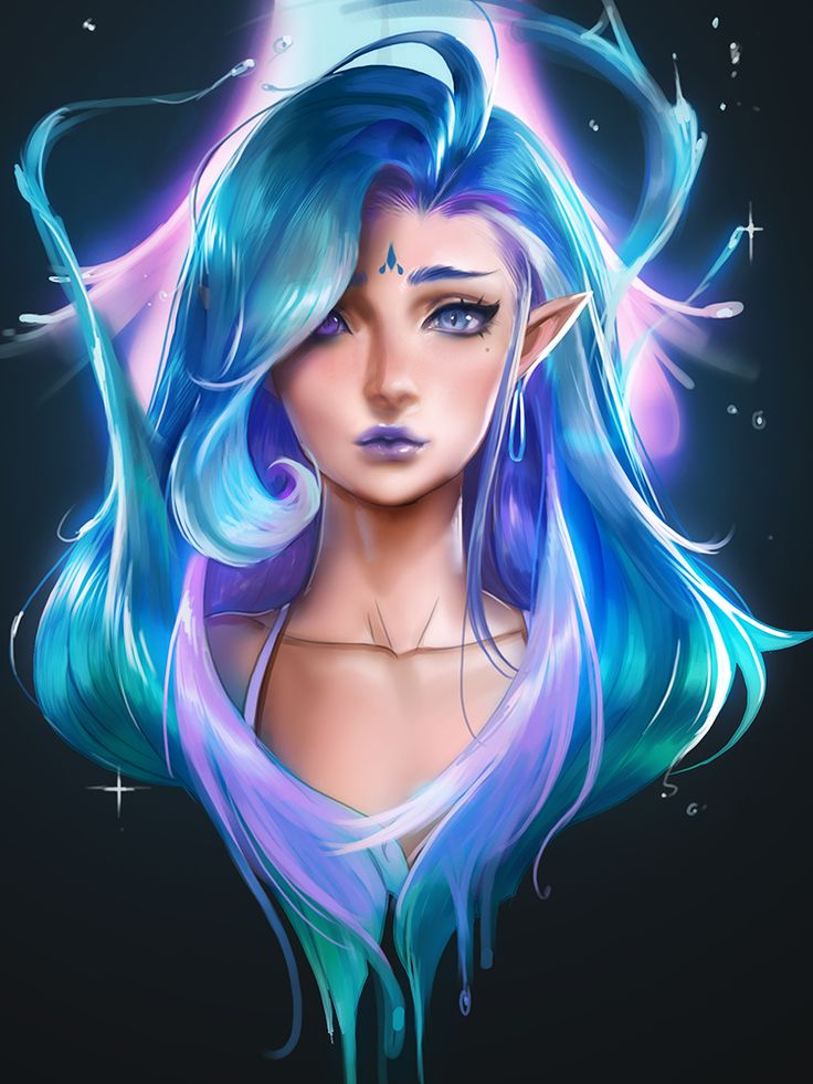 Anime Girl Wallpaper Elf By Sakimichan We All Know Art Is Hard