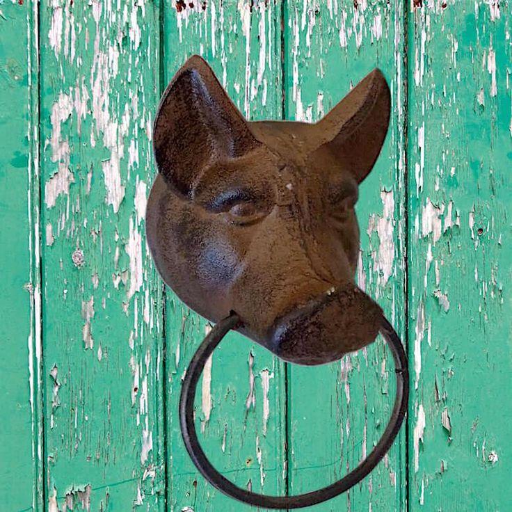 Farmhouse Pig Towel Ring