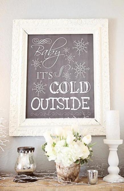 Bestes Babyparty-Mädchen-Thema Winter Wonderland Its Cold 63+ Ideas   – Baby Showers