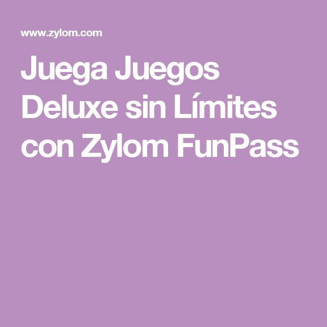 Juega Juegos Deluxe sin Límites con Zylom FunPass