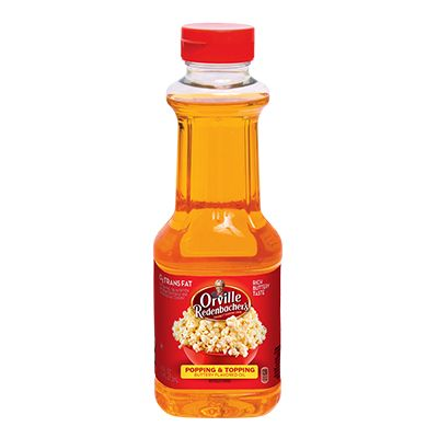 Orville Redenbacher's Butter Flavor Popping and Topping Popcorn Oil