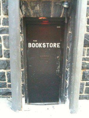 The Bookstore Speakeasy secret door! one of the best restaurant/bar in Bethlehem pa/