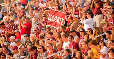 Homecoming: We invite students, parents, alumni, and friends to the Colgate campus to celebrate Homecoming 2013, September 19–22! Make the most of your return to campus by enjoying the many exciting events offered all weekend long with your classmates and friends.