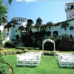 Wedding planner Claire Ady shares her top 10 reasons to plan for a destination wedding. Professional wedding planners can find unusual locations such as the Santa Barbara County Courthouse Garden in California, which has lovely weather almost all year round.