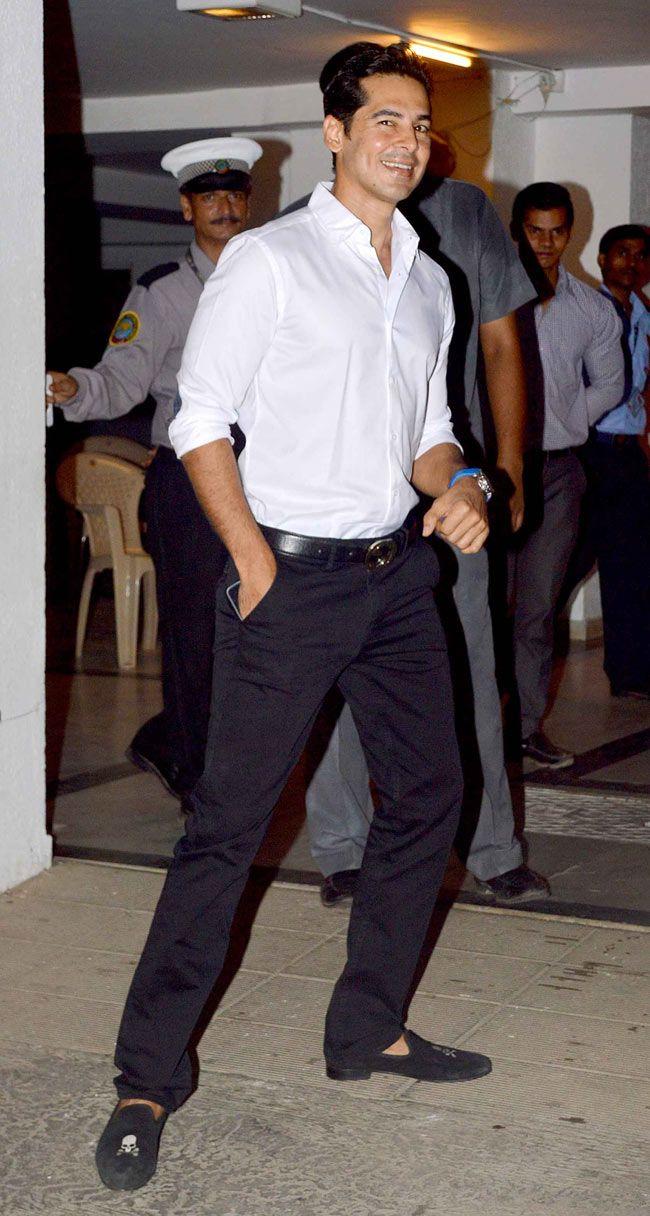Dino Morea at Karan Johar's birthday bash. #Style #Bollywood #Fashion #Handsome