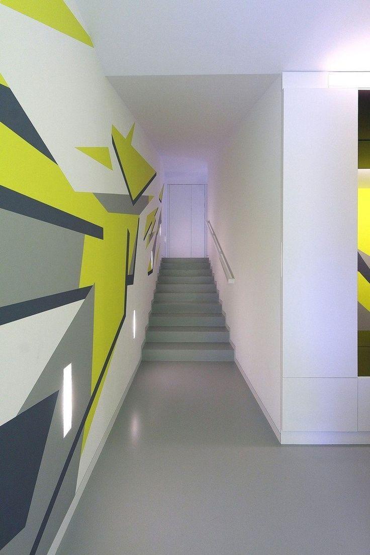 1000 ideen zu treppenhaus streichen auf pinterest w nde. Black Bedroom Furniture Sets. Home Design Ideas