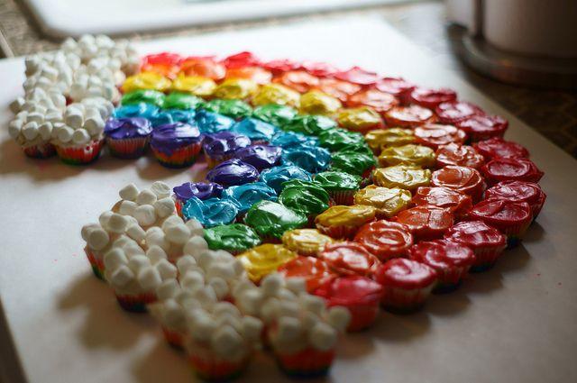 Cupcake Rainbow by Montag2k, via Flickr