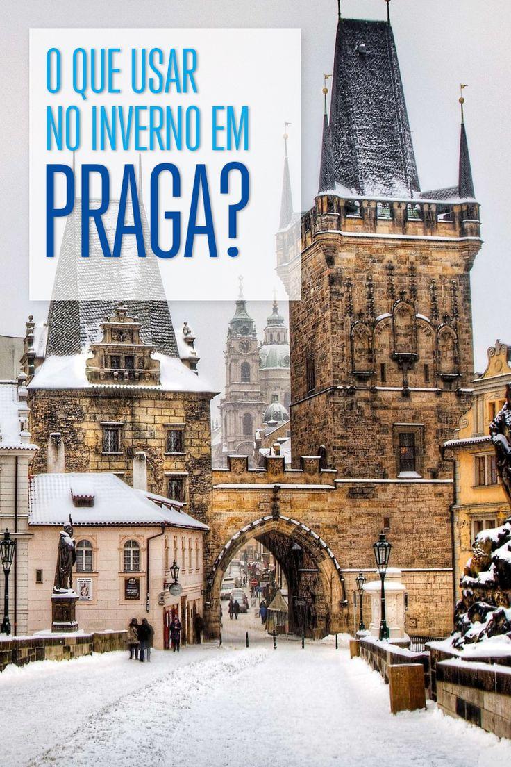 Quer viajar para a capital da República Tcheca no inverno e não sabe o que usar? Te ajudamos a arrumar a mala!